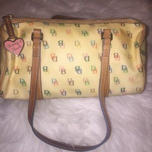Dooney & Bourke Rainbow Monogram Purse
